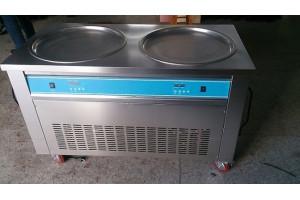 Ice Cream Roll Machine Double Pan (2 Compressor)