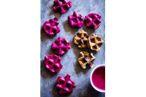 Protein Waffle Premix Blueberry