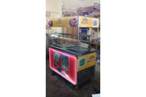 Ice Cream Roll Kiosk Double Pan (3 Compressor)