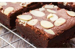 Brownie Premix Chocolate Almond